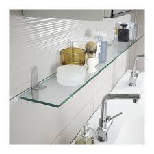 Ikea Glass Shelves Bathroom Grundtal Glasablage 60 Cm Ikea 60 Or 80 In Toilet Nook