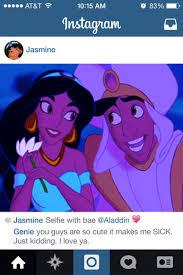 Princess Jasmine Meme - if disney princesses had instagram jasmine s bae memes
