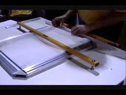 diy screen print india screen printing stretching screens with easy frame youtube