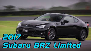 subaru brz 2017 2017 subaru brz limited with performance package crystal black