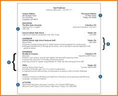 Resume For A Student Vp Sales Example Resume U3 Business Skills Pinterest