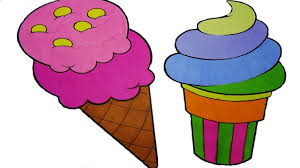 ice cream coloring pages ice cream colouring book viedo to learn