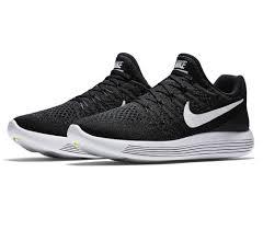 Nike Lunar nike lunar epic low flyknit 2 s running shoes black white