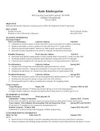 Resume Examples Teacher by Resume Career Objective Examples Teacher