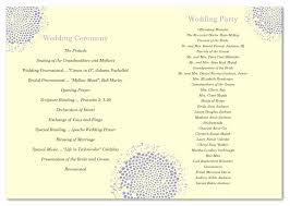 wedding programs ideas wedding program ideas to go for 21st bridal world wedding