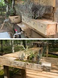 Bathtub Planter How To Make Outdoor Pallet Bathroom
