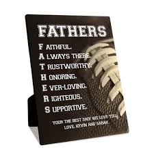 personalized fathers day gifts personalized s day gifts desk plaques clocks more