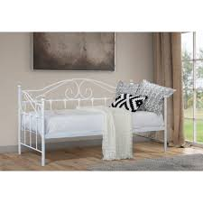 aimee day bed white metal beds