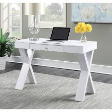 white wood desk with drawers clay alder home logan espresso white wood desk free shipping