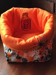 halloween treat bag 100 cotton riley blake halloween fabric with