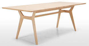 jenson extending dining table solid oak made com furniture