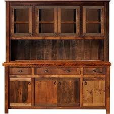 dining room hutch and buffet rustic hutch artisan frontier barnwood buffet hutch for the