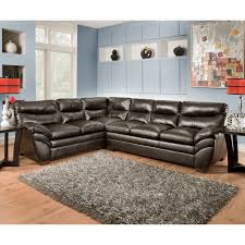 simmons soho bonded leather sectional walmart com