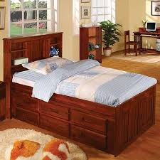 Bookcase Daybed With Drawers And Trundle Viv Rae Kaitlyn Captain Twin Storage Bookcase Bed With Trundle