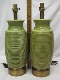vintage drip glaze l 2 vintage mid century modern drip glaze blue green ceramic table