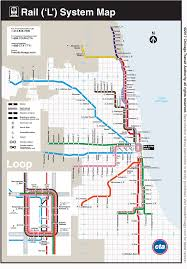 Chicago Ohare Gate Map by City Guide Chicago Interexchange