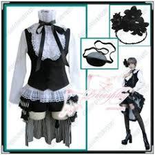 Butler Halloween Costume Ciel Phantomhive Black Butler Easy Cosplay Halloween Costume