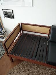Retro Sofa Bed Vintage Mid Century Retro Sofa Bed Teak Black Guy Rogers Model