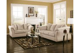 beige sofa and loveseat darcy sofa and loveseat ashley furniture homestore