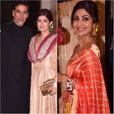 Twinkle Khanna Home Decor Twinkle Khanna Akshay Kumar And Shilpa Shetty Attend Ekta