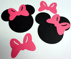 minnie mouse silhouette file birthday pinterest minnie mouse