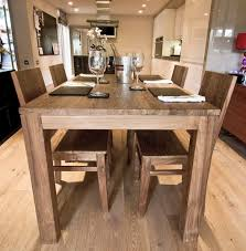 Dining Room Table Reclaimed Wood Reclaimed Wood Dining Table And Chairs With Design Photo 2565 Zenboa