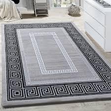 rug living room border ornamental pattern abstract design mottled