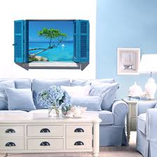 compare prices on fake window wall mural wall online shopping buy home decor art vinyl fake window new mural wall decals removable stickers landscape fake window wall