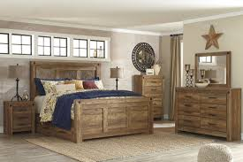 Bedroom Sets With Drawers Under Bed Ladimier Golden Brown King Mansion Storage Bed