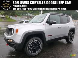 gray jeep renegade interior 2015 glacier metallic jeep renegade trailhawk 4x4 105082302