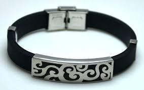 mens rubber bracelet images Rubber mens bracelets guardianspirit jpg
