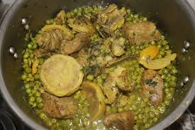 quoi cuisiner ce soir la cuisine de bernard tajine de veau aux petits pois et artichauts