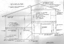 house cross section drawing home building plans 22867