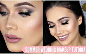 romantic sultry wedding bridal makeup tutorial summer 2016