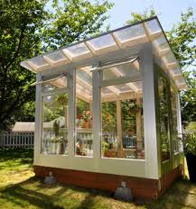 Backyard Green House by 9 Sources For Midcentury Modern Sheds Prefab Diy Kits And