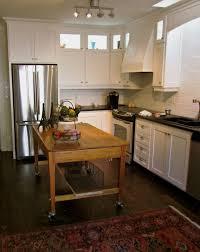 furniture rustic varnished walnut kitchen cart which furnished