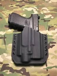 glock 19 light and laser black kydex light holster for glock 19 23 32 streamlight tlr 4 laser