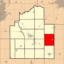Shelby County Zip Code Map by Assumption Township Christian County Illinois Wikipedia