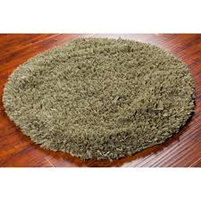 hand woven moss chenille shag rug 5 u0027 round free shipping today