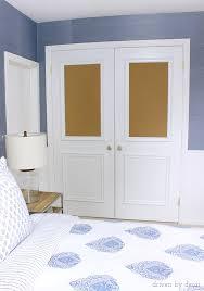 Pictures Of Closet Doors Cork Board Closet Doors Boring Flat Doors No More Driven By Decor