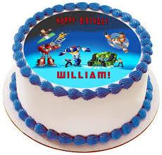 transformer cake toppers transformers rescue bots 1 edible cake or cupcake topper edible