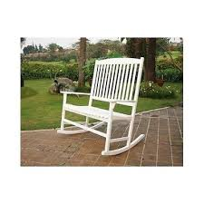 outdoor double rocker patio white porch rocking chair rustic wood
