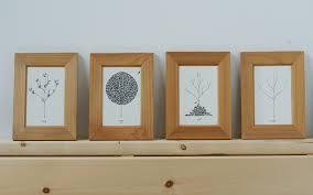 framed greeting cards frugal decor your way