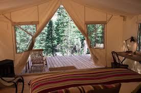 safari style camping in colorado glam bedding included remodelista