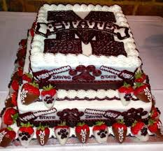 wedding cake m s mississippi state cake cakes cookies and other confections