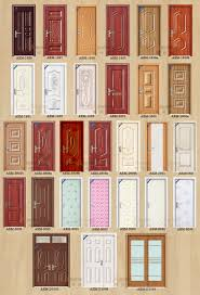 Door Pattern Manufacturer Direct Supply Elegant Pattern Pvc Coating Interior
