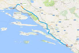 Horizon Air Route Map by Direct Flights To Split Guide Split Croatia Travel Guide