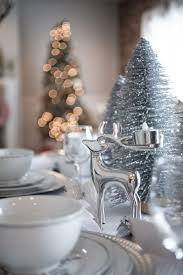 accessories amusing setting the christmas table decorations