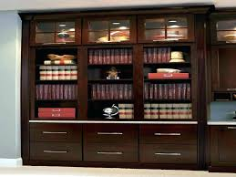 Cherry Bookcases With Glass Doors Small Cherry Bookcase Simpleclick Me