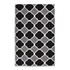 buy grey white black area rugs from bed bath u0026 beyond